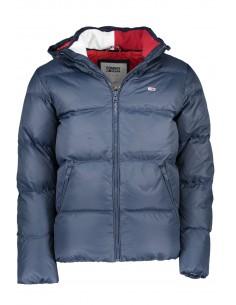 Tommy Hilfiger chaqueta plumón para hombre capucha - marino