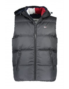 Tommy Hilfiger chaleco plumón para hombre - negro