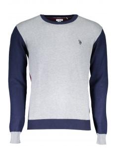 Jersey U.S. Polo Assn para hombre multicolor - grey/navy/burdeos