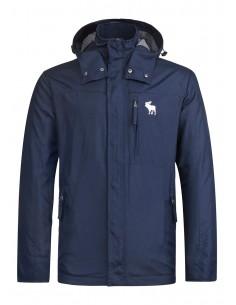 Abercrombie chaqueta técnica para hombre - navy
