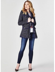 Chaqueta Guess efecto tweed