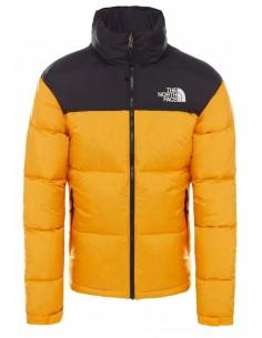 Plumón The North Face para hombre - black/yellow