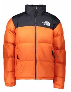 Plumón The North Face para hombre - black/orange