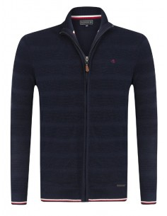 Cardigan Sir Raymond Tailor tricot - navy