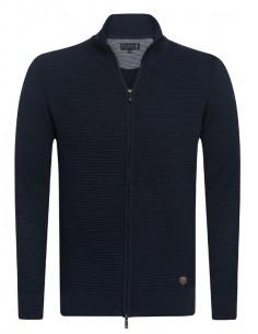 Cardigan Sir Raymond Tailor tricot - marino