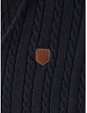 Jersey Sir Raymond Tailor escotado - navy