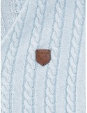 Jersey Sir Raymond Tailor escotado - azul claro