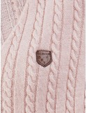 Jersey Sir Raymond Tailor escotado - rosa palo
