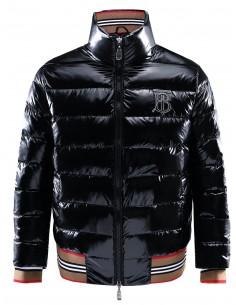 Burberry chaqueta acolchada tipo plumón para hombre - negra