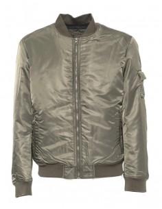 Calvin Klein chaqueta bomber para hombre - kaki