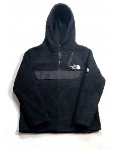 The North Face chaqueta canguro en polar - Black