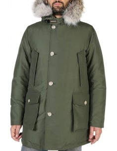 Woolrich - Arctic parka para hombre en color green stone