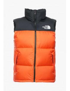 Chaleco The North Face para hombre - black/orange