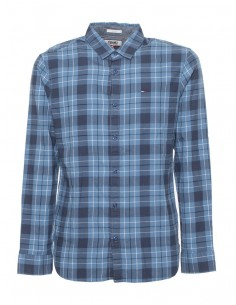 Tommy Jeans camisa para hombre - check blue