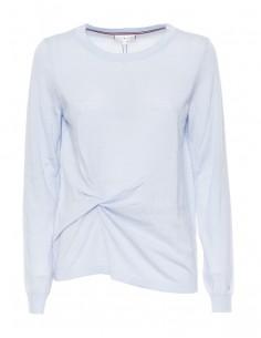 Tommy Hilfiger jersey lana para mujer - celeste