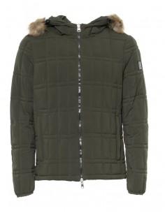 Refrigue chaqueta hombre EVO2 con capucha kaki