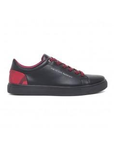 Zapatillas Guess para hombre con cordones a contraste - black