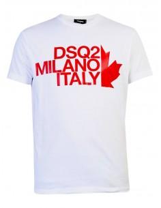 Camiseta para hombre MILANO ITALY - blanca
