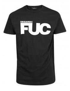 Camiseta para hombre Fuc - negra
