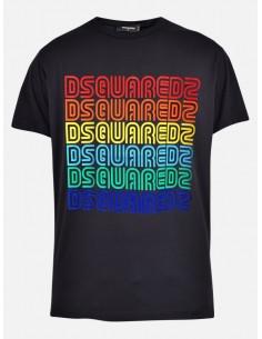 Camiseta para hombre Multologo - black