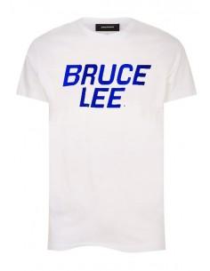 Camiseta para hombre Bruce Lee - blanca