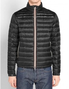 Moncler chaqueta plumas para hombre - negra