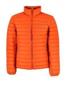 Lacoste chaqueta padded hombre en color naranja