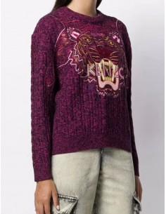 KENZO jersey para mujer en color rosa