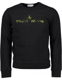 Felpa Stone Island Graphic Eleven para hombre - Black