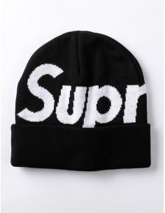 Gorro Supreme Big Logo - negro