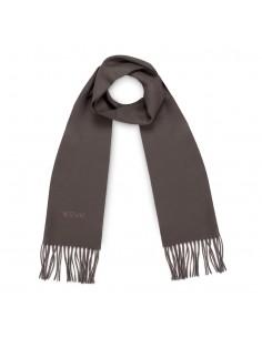 Moschino - bufanda de lana para hombre - fango