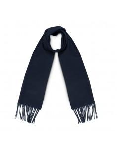 Moschino - bufanda de lana para hombre - marino