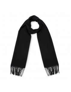 Moschino - bufanda de lana para hombre - nero