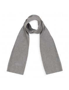 Moschino - bufanda de lana unisex color gris
