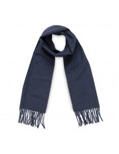 Moschino - bufanda de lana unisex color marino