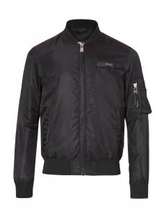 Philipp Plein - chaqueta bomber para hombre - black