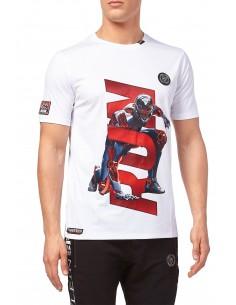 Philipp Plein camiseta para hombre Sport - run white