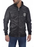 Philipp Plein chaqueta bomber para hombre - black