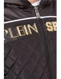 Philipp Plein chaqueta bomber guateada en negro