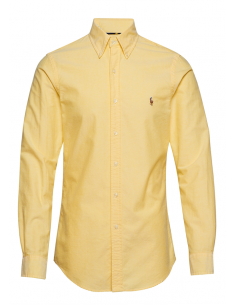 Camisa oxford Polo de hombre custom fit - yellow