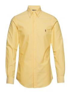 Camisa oxford Polo de hombre custom fit - yellow