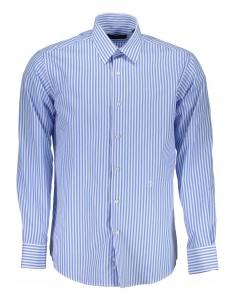 Camisa Trussardi para hombre de rayas azules