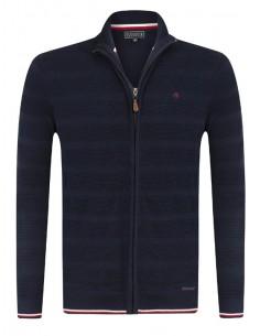 Cardigan Sir Raymond Tailor tricot - navy