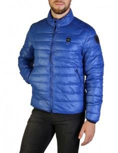 Blauer chaqueta acolchada para hombre - azul royal