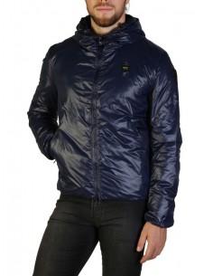 Blauer chaqueta con forro acolchado para hombre - marino