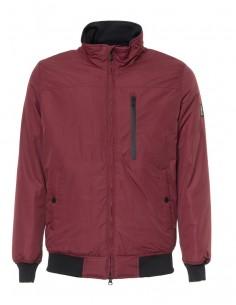 Refrigue chaqueta para hombre tipo bomber - burdeos