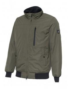Refrigue chaqueta para hombre tipo bomber - kaki