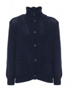 Chaqueta Gant de lana texturizada - marino