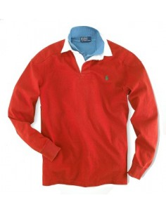 Polo small pony rugby color red