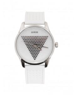 Reloj Guess mujer de acero y silicona blanco